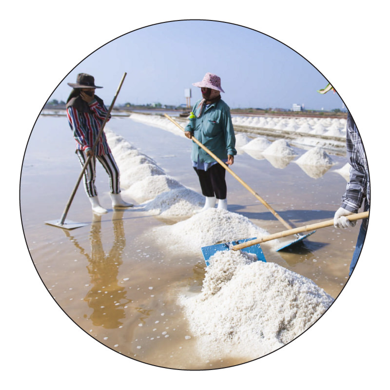 hand mined sea salt