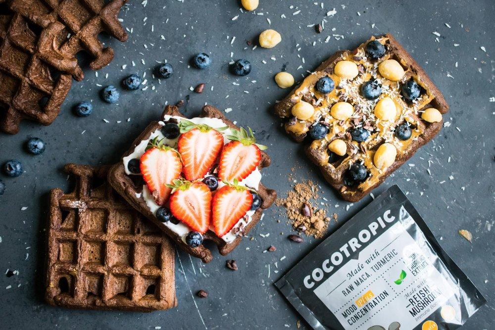 flourless waffles