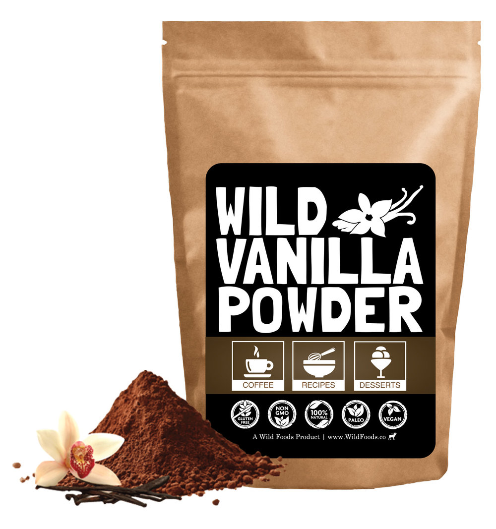 organic vanilla bean powder
