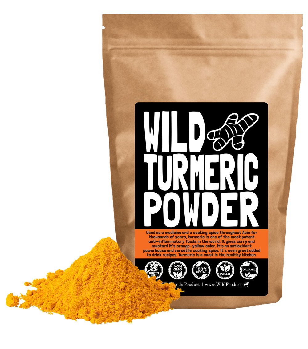 Our Wild Turmeric is Curcuma longa from India!