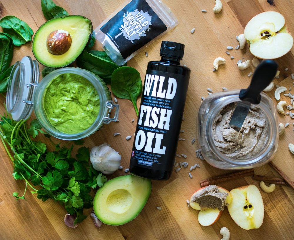 Wild Foods Guide To Fish Oil - Don't miss the recipes below!