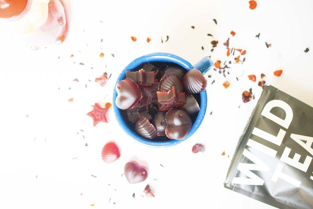 tea gummies