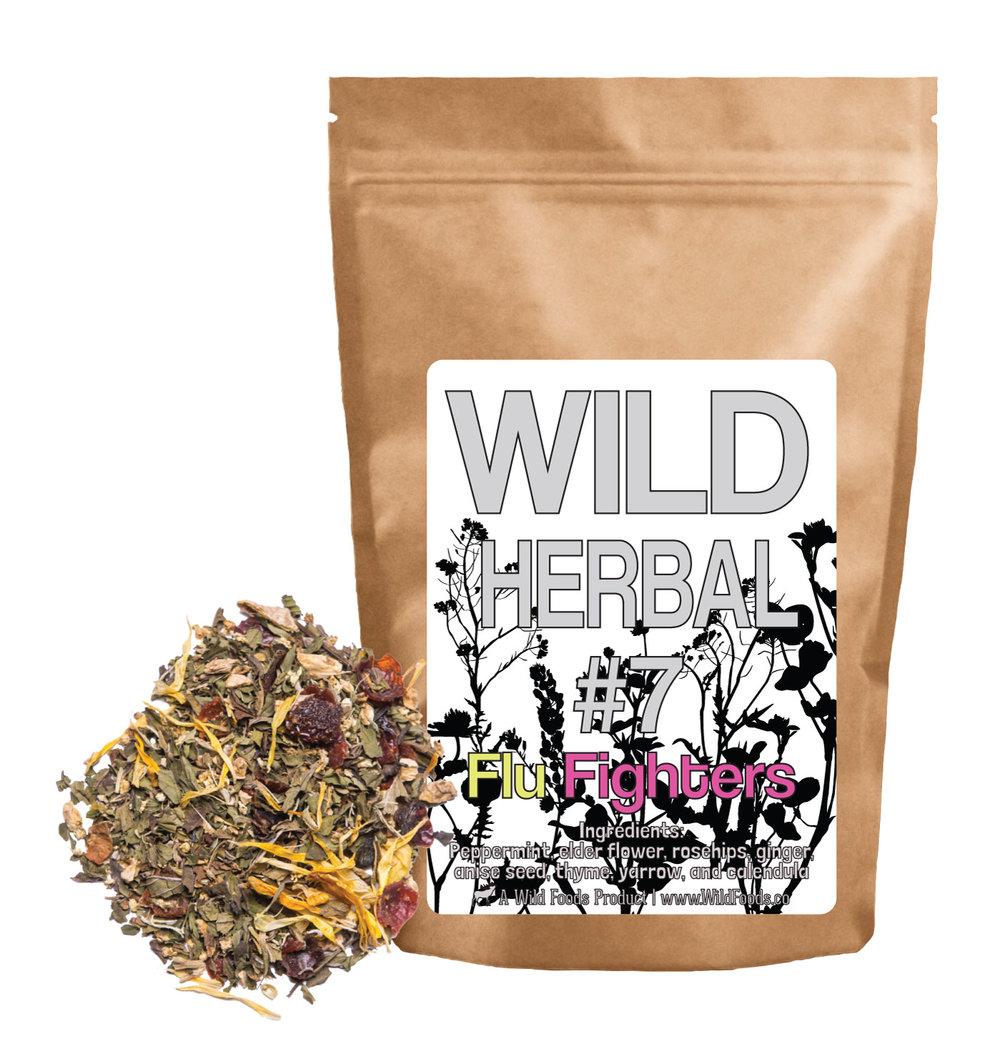 Shop wild foods wild herbal 7 flu fighters 8 ingredient blend izmirmasajfo