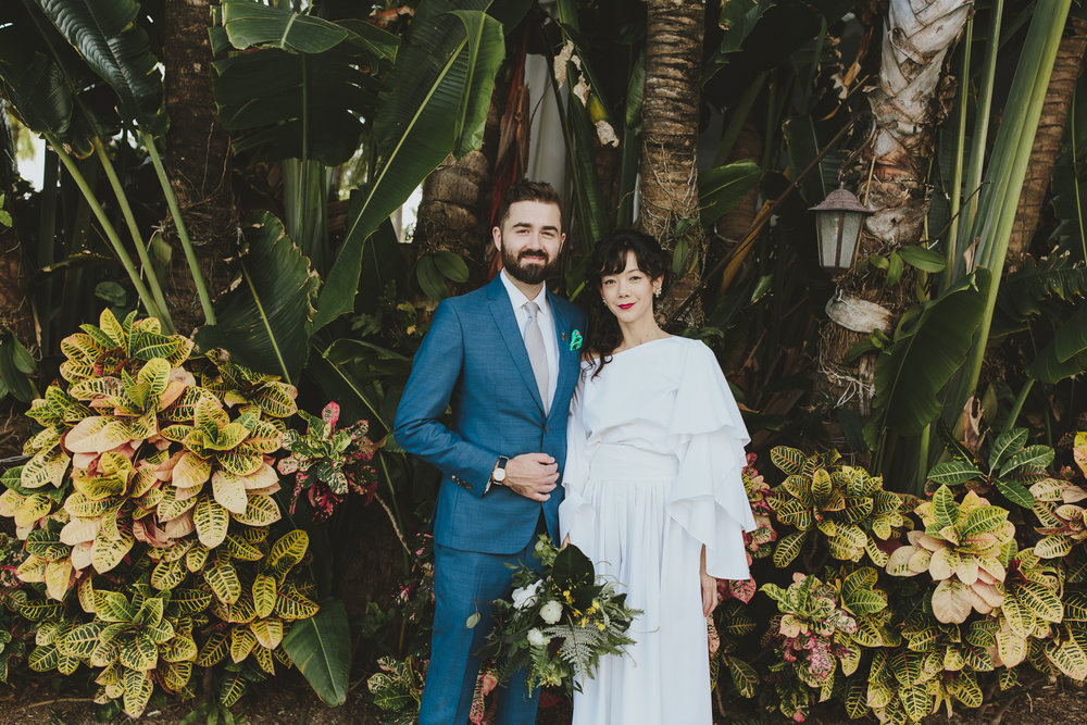 Tricia + Dan Wedding Photo