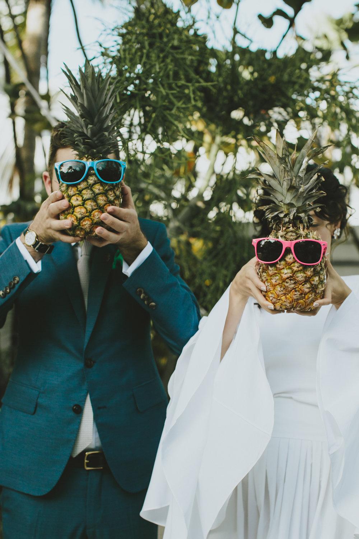 Tricia + Dan Pineapple