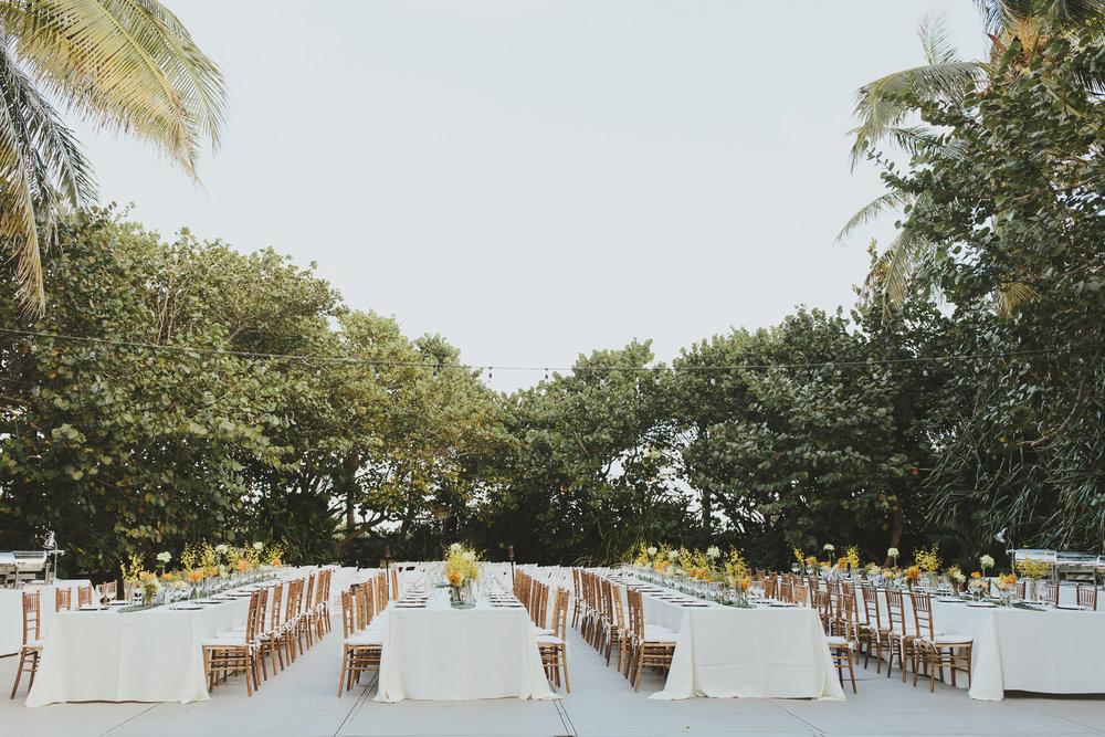 Tricia + Dan Wedding Tables
