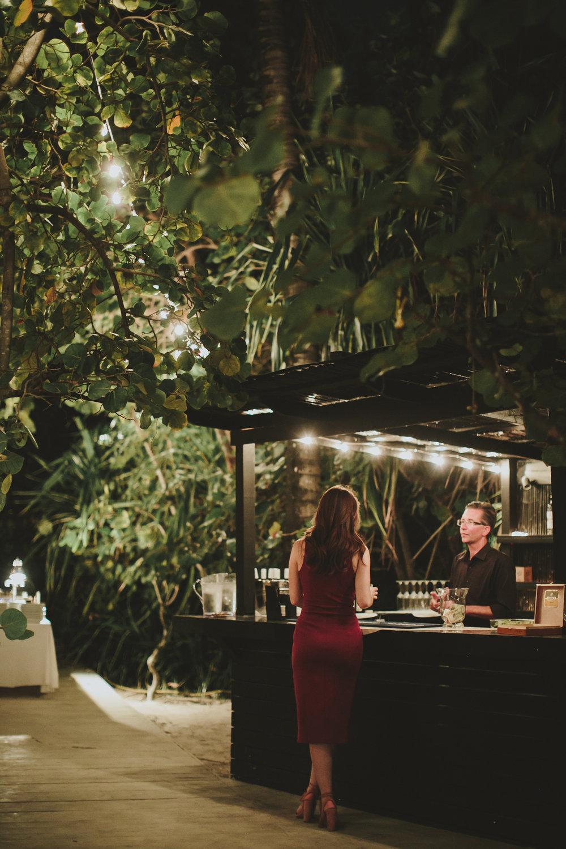 Tricia + Dan Wedding Meal