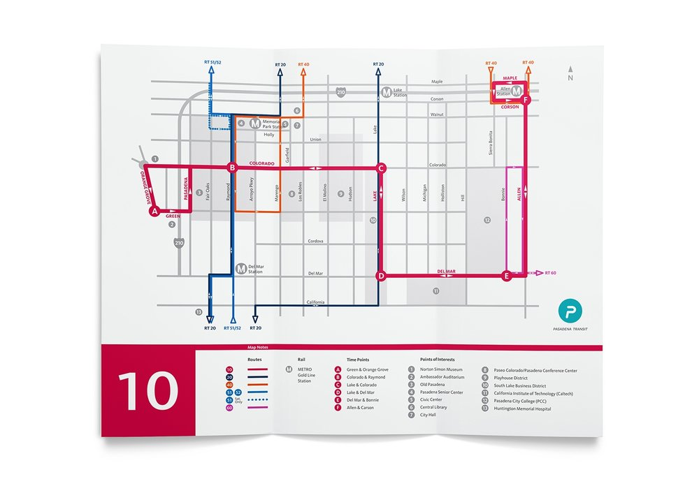 Route 10 map