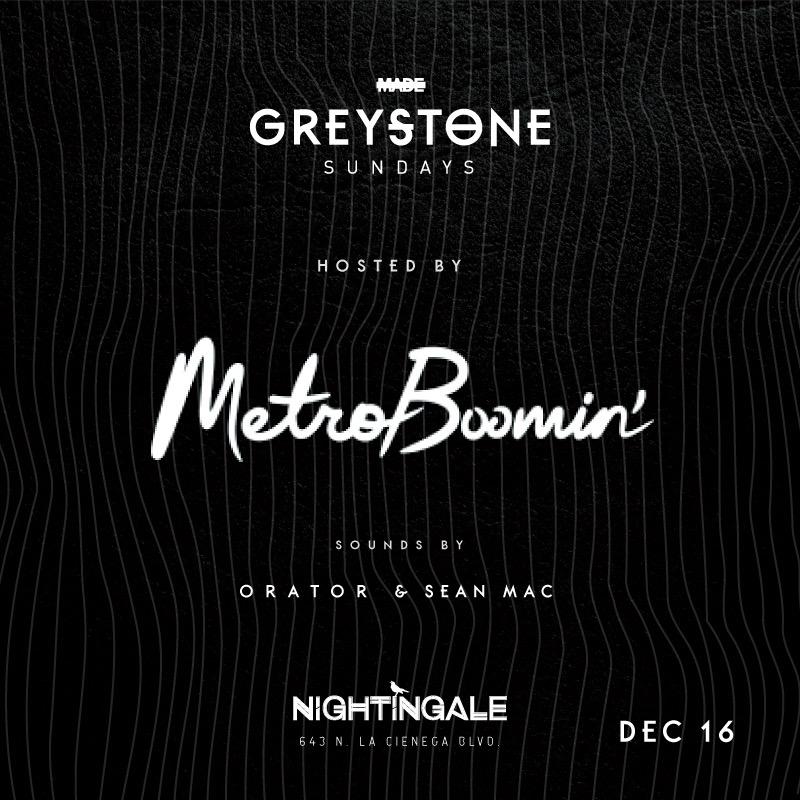Greystone Sundays at Nightingale Plaza, December 16, 2018 — MADE