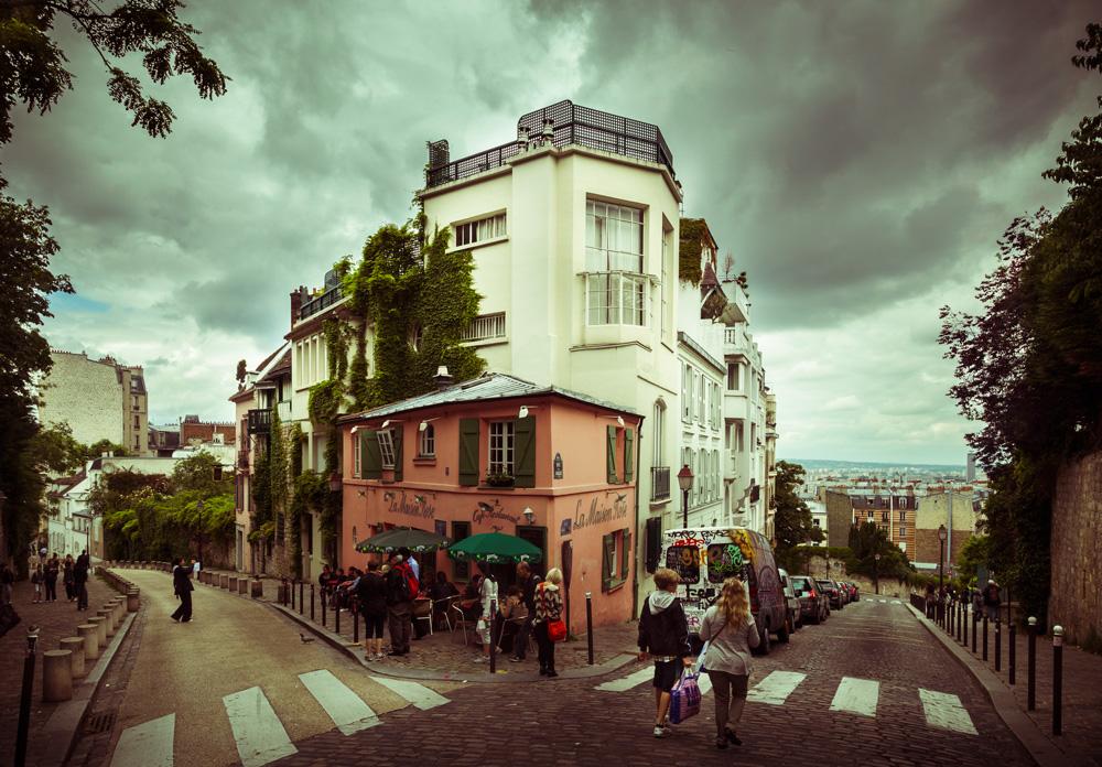 Montmartre, Paris, 2013