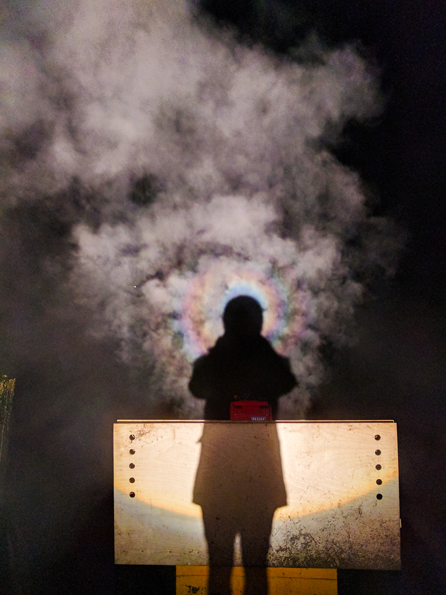 Brocken Spectre Test 3