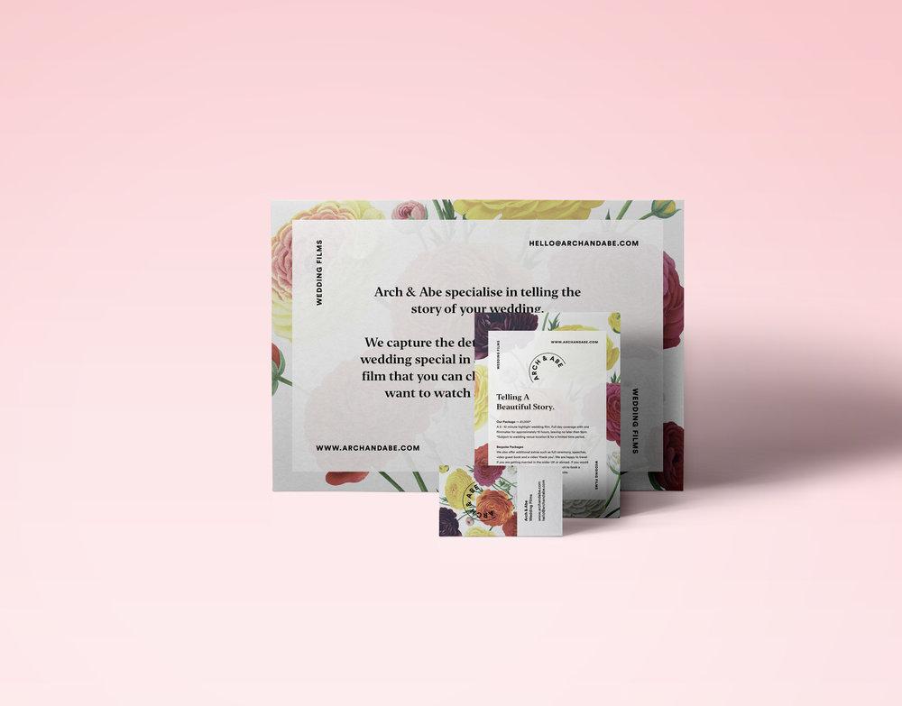 Arch & Abe —  Brand Identity & Marketing Materials
