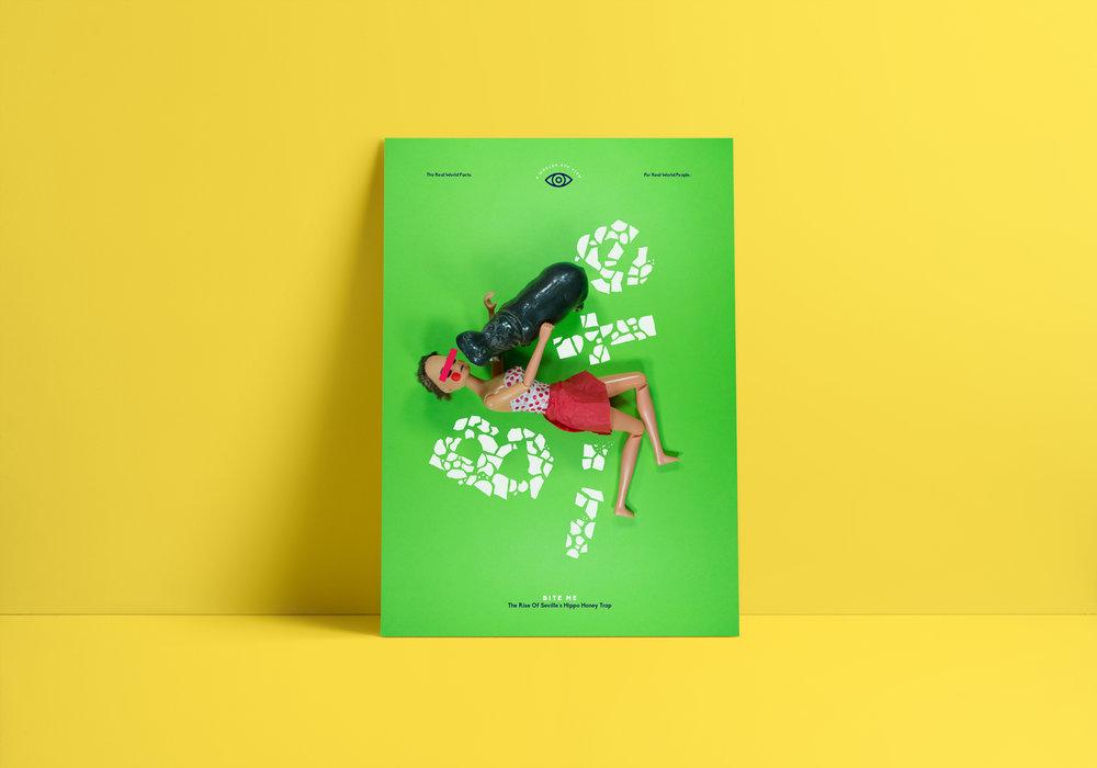 A World's Eye View — Postcard Design