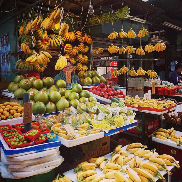 (Photo: Eat more bananas- Yau Ma tei, Hong Kong)