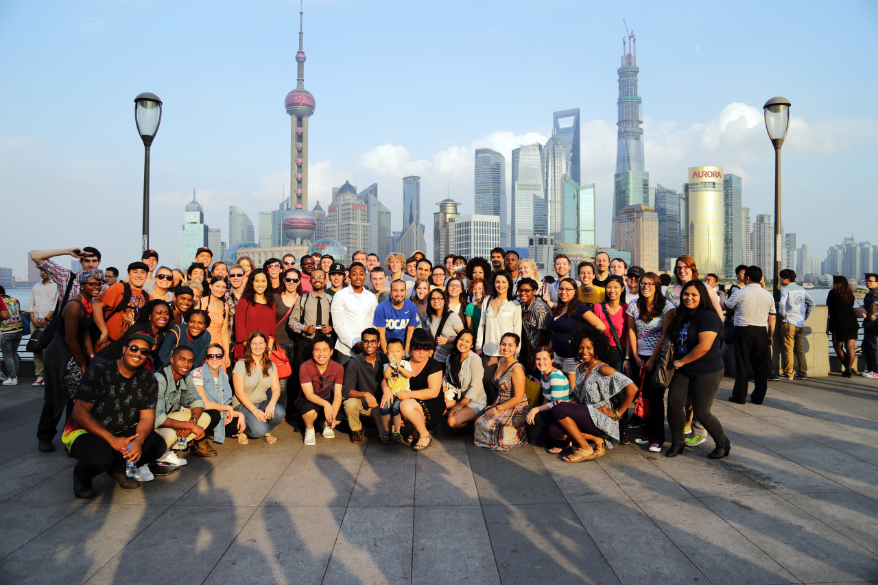 Welcome to the official blog of Ameson Year in China. Here there will be information about the AYC 2014 program, as well as peering in on the experiences of current AYCers. This photo demonstrates common occurrences in China in the best way. Here we see about 100 AYC participants posing for a group portrait, and a completely unrelated Chinese woman and her baby rushing to join the photo. This best explains T.I.C #thisisChina, where you are foreign, new and very different than the almost 90% Han Chinese-populated country. This woman, as will many, wants to learn more about you and about your culture. Know that people may seem invasive, annoying, and even downright disrespectful according to American standards, but…this is China. So be willing to learn just as much, or more, than you are teaching. Feel free to ask any questions in the Ask box, about the program, and be sure to check out the 2013 participants' blogs! It's great insight into the good, the bad and the somewhat strange occurrences of being in China with AYC.