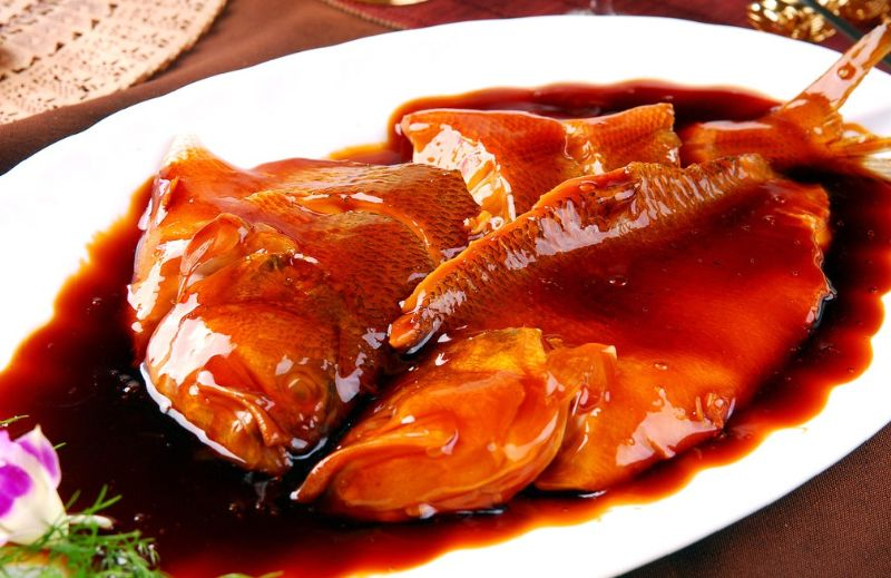 West Lake fish in sweet sour sauce is a must-have Hangzhou, which can be found at Lou Wai Lou Restaurant or Zhi Wei Guan Restaurant.