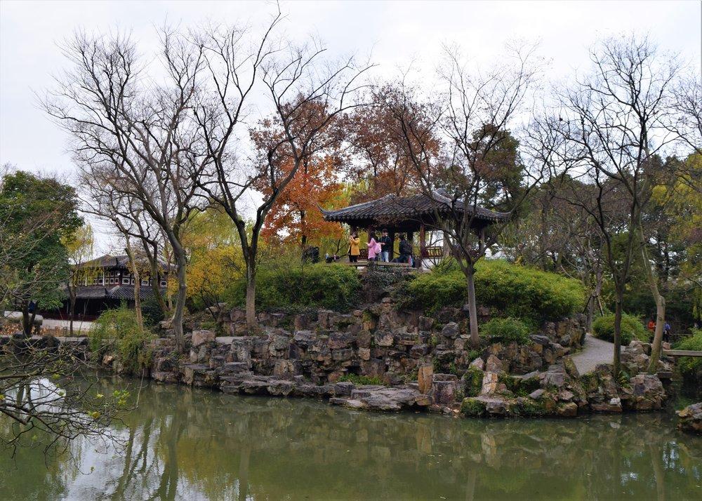 Garden in Suzhou, by Jilli Leonard