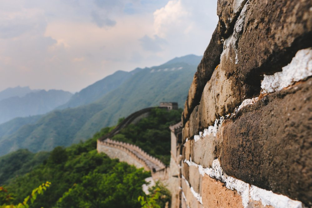Photo of the Great Wall of China, c/o Diego Jimenez on Unsplash