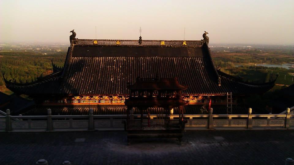 Maoshan, overlooking Jintan. c/o Seth.