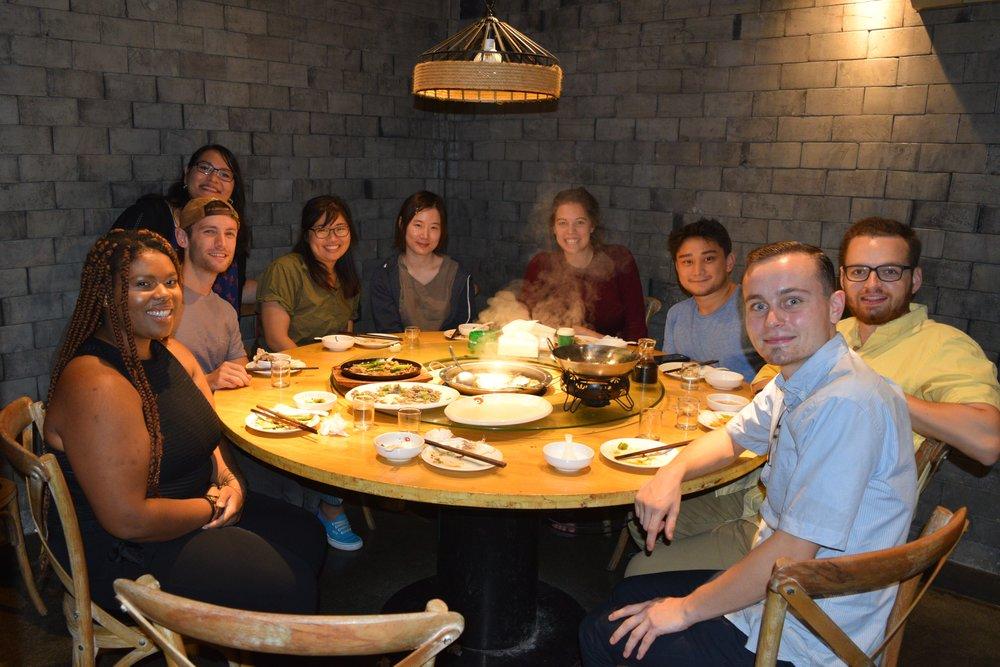 c/o Jilli Leonard, EAs and alumni gather in Lishui, Zhejiang