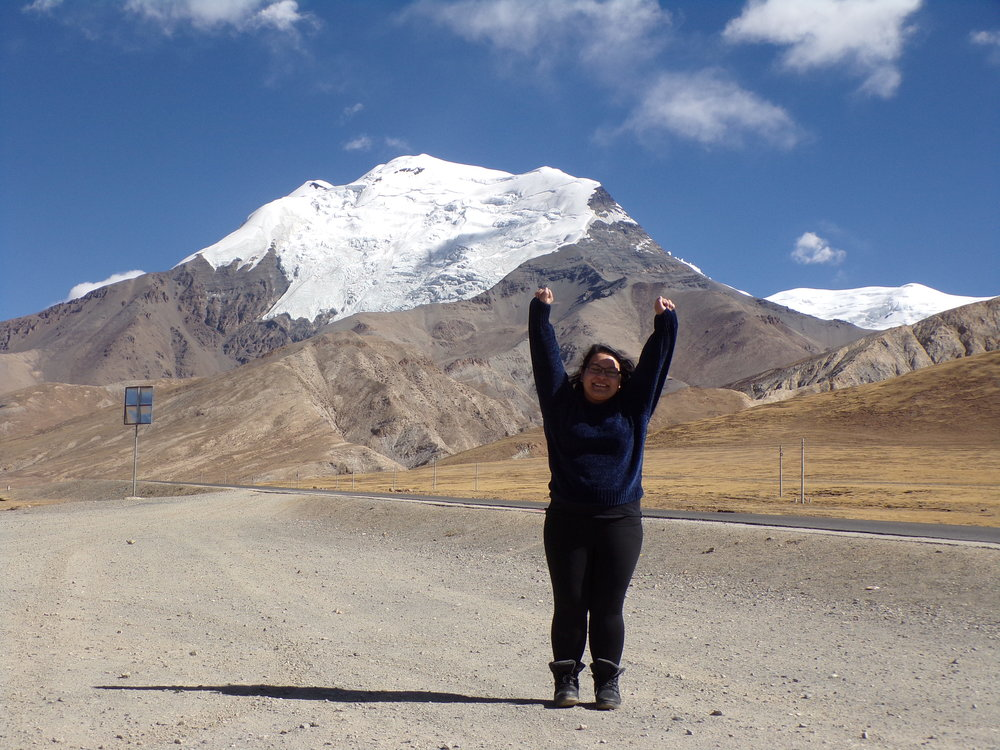 Stephanie Simpson on her journey to Nepal