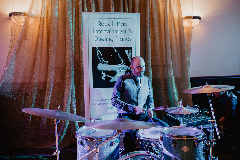 wedding reception entertainment drummer .jpg