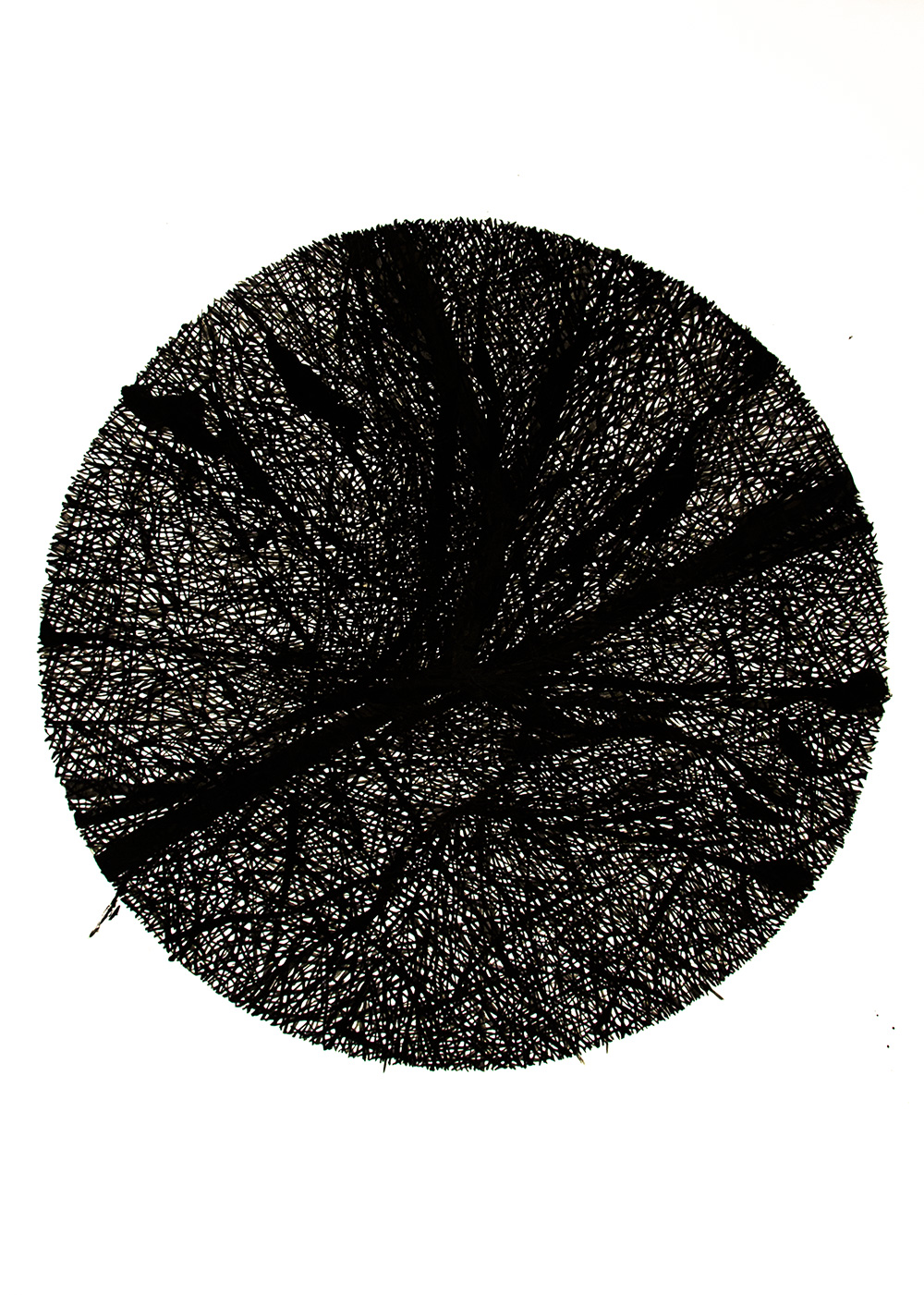 Untitled, 2014, Ink on paper, 75 cm × 55 cm