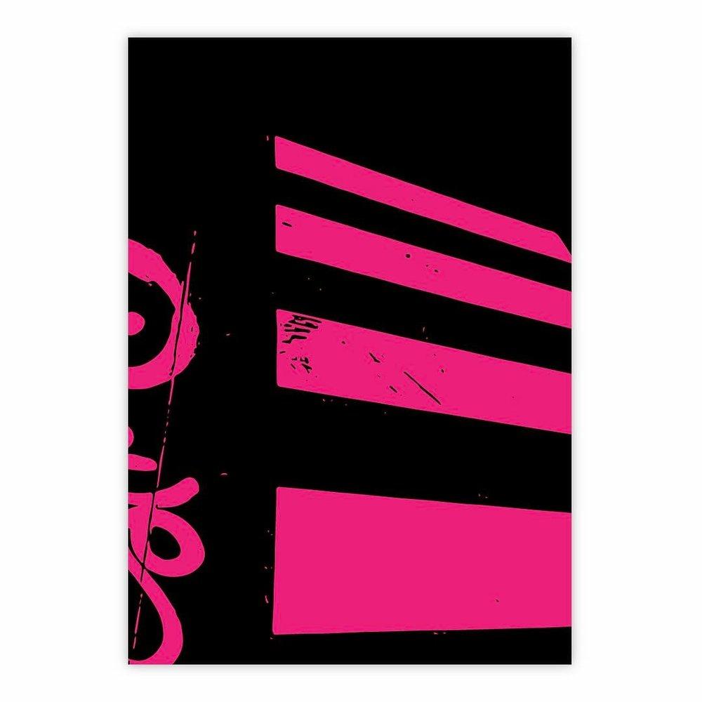 ——————• #art #artwork #foundobject #instaart #black #pink #construction #abstractart #abstraction #monochrome #minimalism