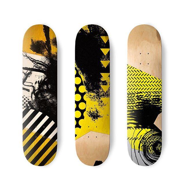 Skate or die!  #skateboarding #blindspot #art #artworks #afterimage #instaart #black  #abstractart #abstraction #melbourneabstraction #monochrome #screenprinting #paper #wip #workinprogress #graphic #brunswick #footscray #nonrepresentational #paint #painting #melbourneart #brunswickart