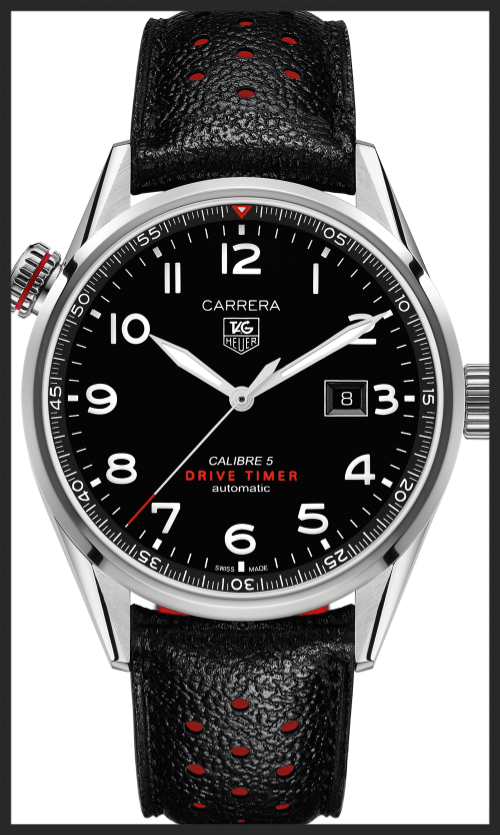 Last year's TAG Heuer Drive Timer. If only it had just said Heuer.  © TAG Heuer Ltd