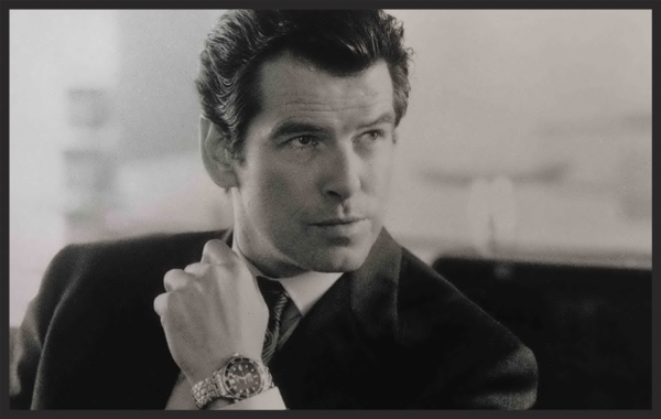James Bond and his Omega Seamaster