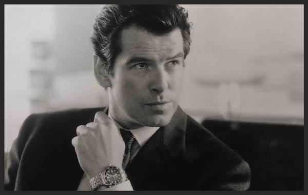 James Bond and his Omega Seamaster