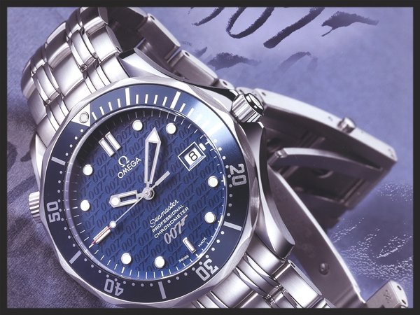 The Omega Seamaster Die Another Die Limited Edition