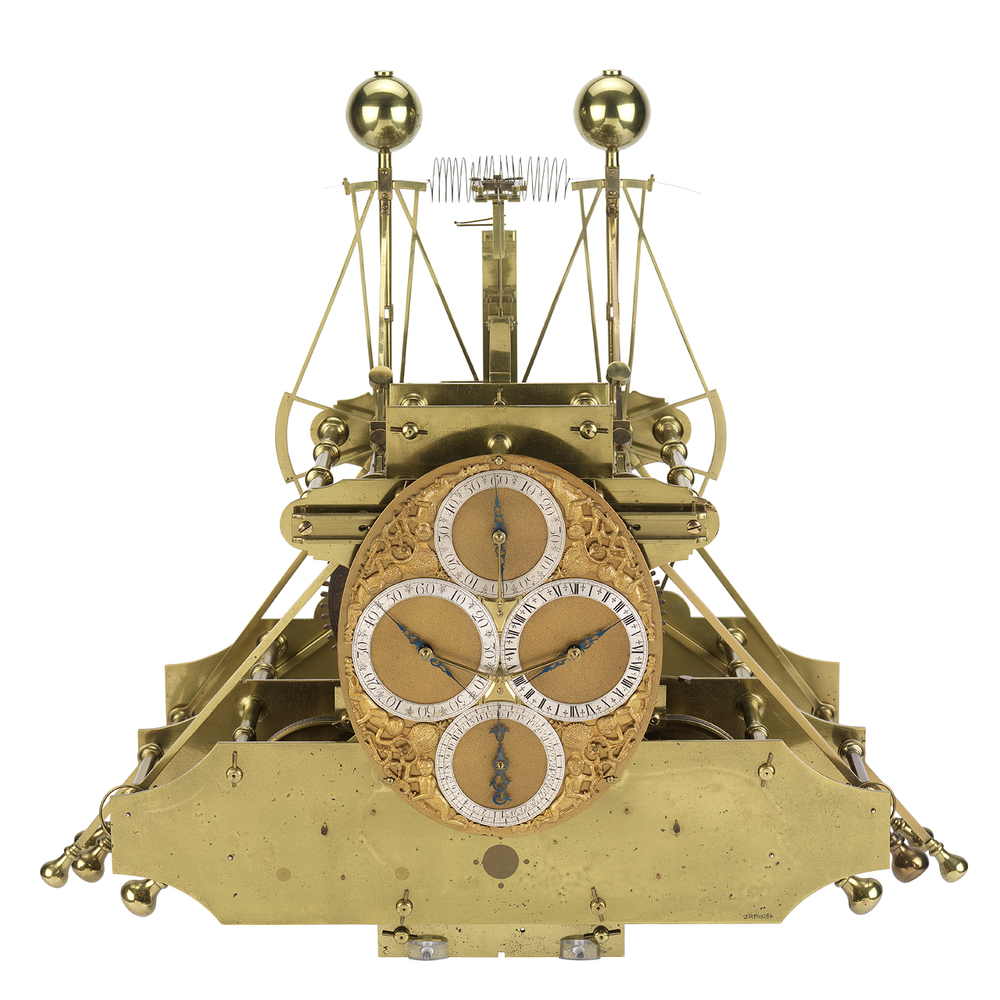 H1, the first Marine Chronometer created by John Harrison. Photo courtesy of Royal Museums Greenwich.