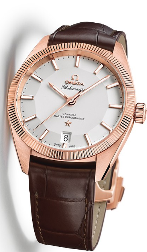 The new Omega Globemaster Master Chronometer. ©Omega Ltd