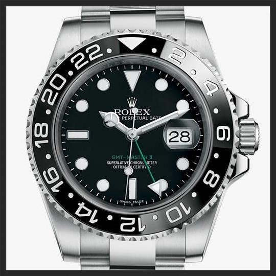 Rolex GMT Master II 116710LN   © Rolex