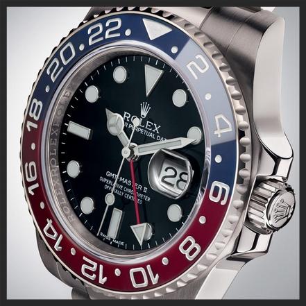 Rolex GMT Master II Ref 116719BLRO © Rolex