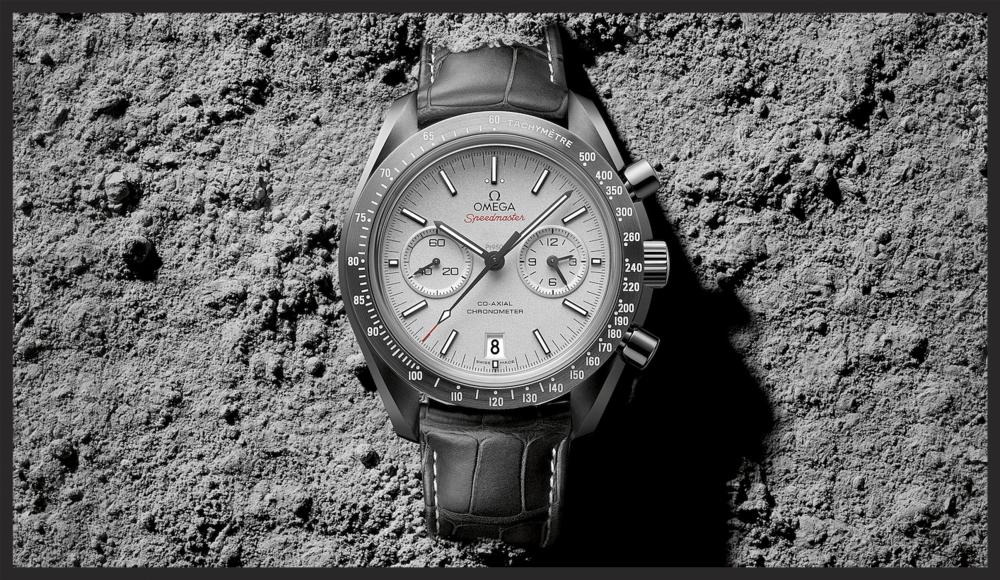 The Omega Speedmaster Grey Side of the Moon. © Omega Ltd
