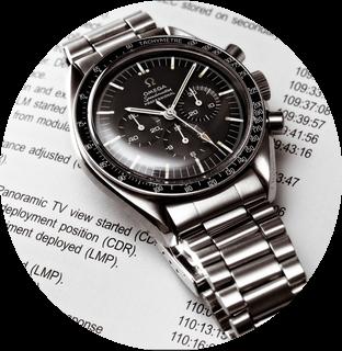 An Omega Speedmaster Ref.145.012