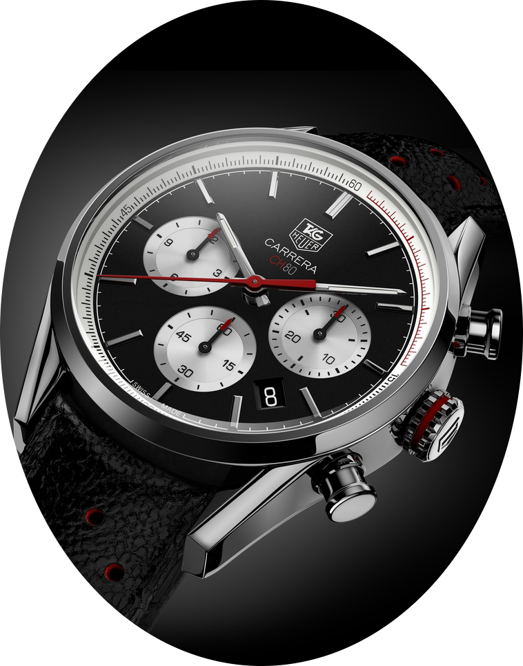 """The now """"delayed"""" TAG Heuer Carrera CH80 taken at Baselworld 2014. Photo courtesy of TAG Heuer."""