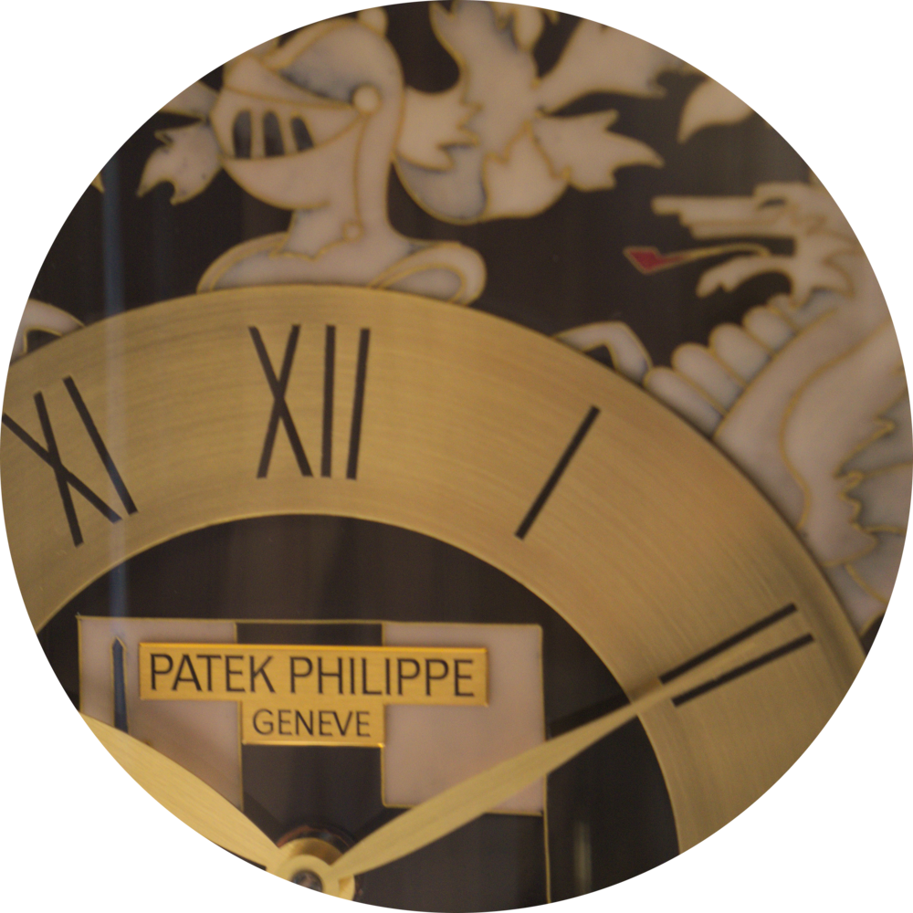 "Patek Dome Table Clock ""Old London"""