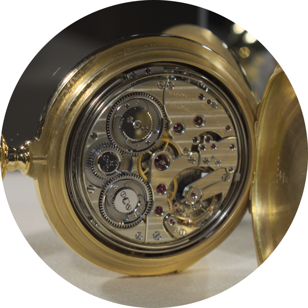 The Duke of Regla pocketwatch movement