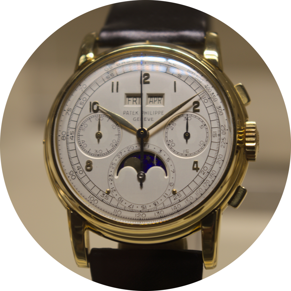 Ref 2499 - Chronograph and perpetual calendar, 1952