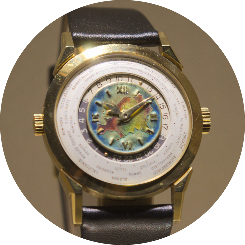 Ref 2523 HU - World Time Wristwatch