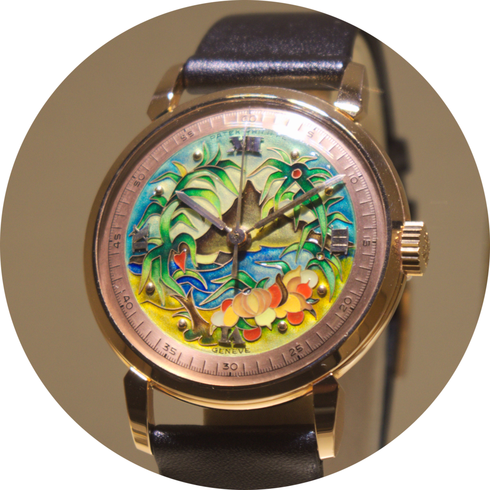 Foret Vierge (Virgin Forest) Gentleman's Wristwatch