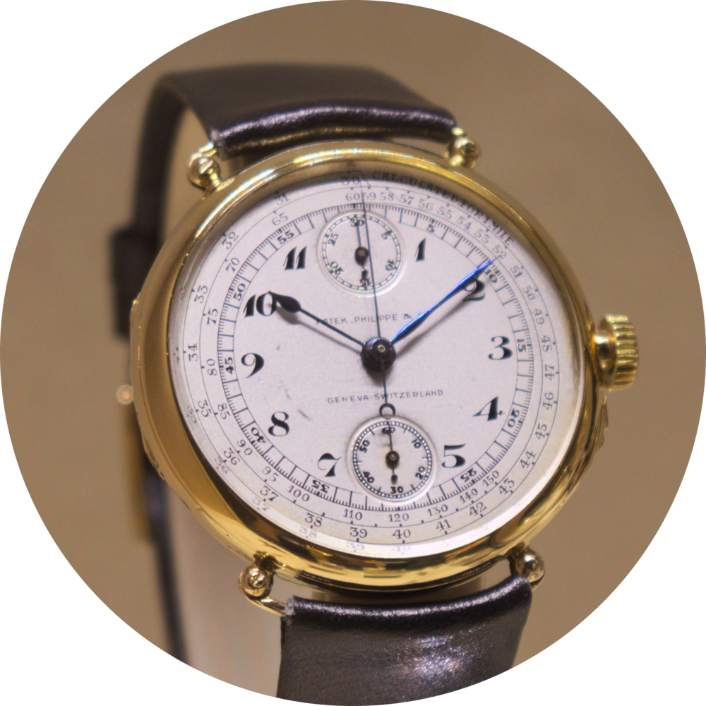 The First Patek Philippe Wrist Chronograph, 1924