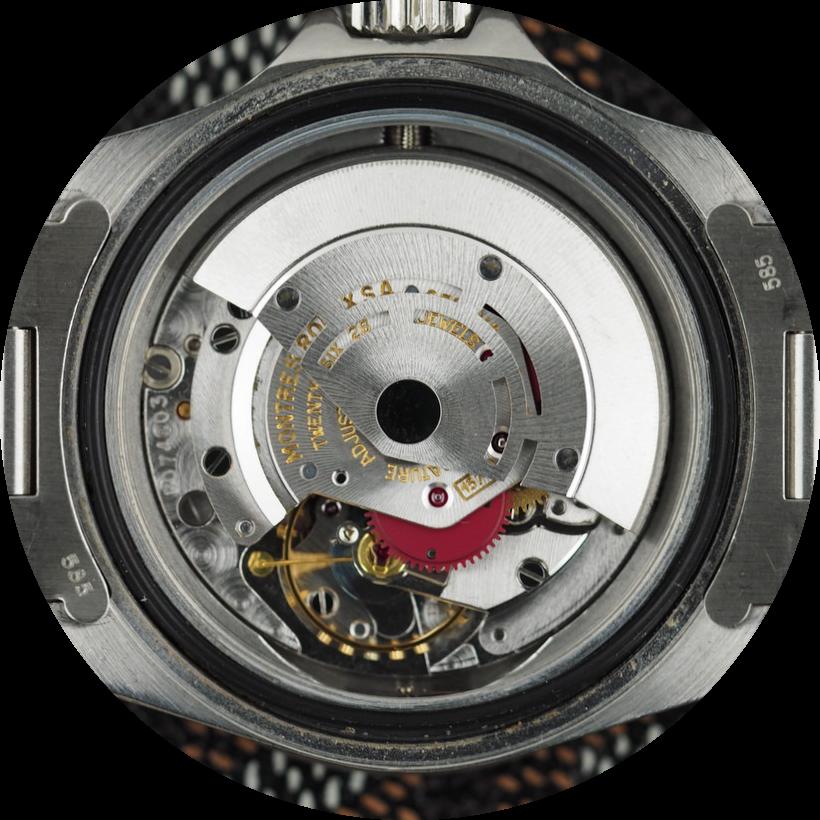 Rolex Sea-Dweller Ref. 1655 movement