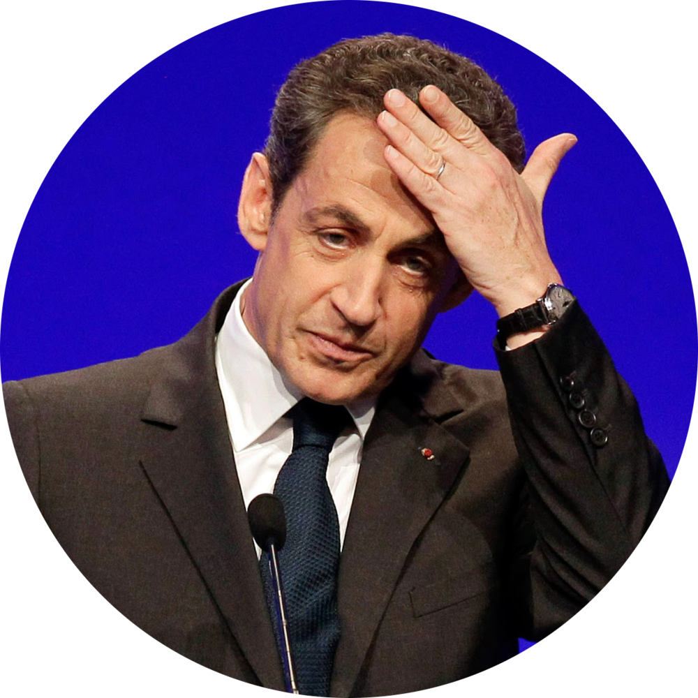 Ex President of France Nicolas Sarkozy wearing a Patek Philippe Ref.3940