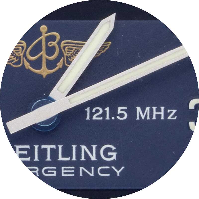 Breitling 121.5mhz close up.png