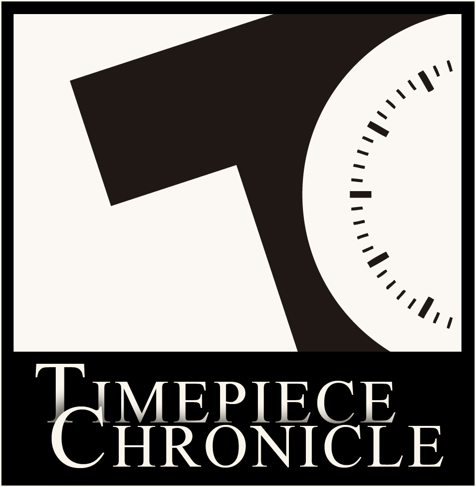The first logo design of Timepiece Chronicle courtesy of my good friend Ryan.